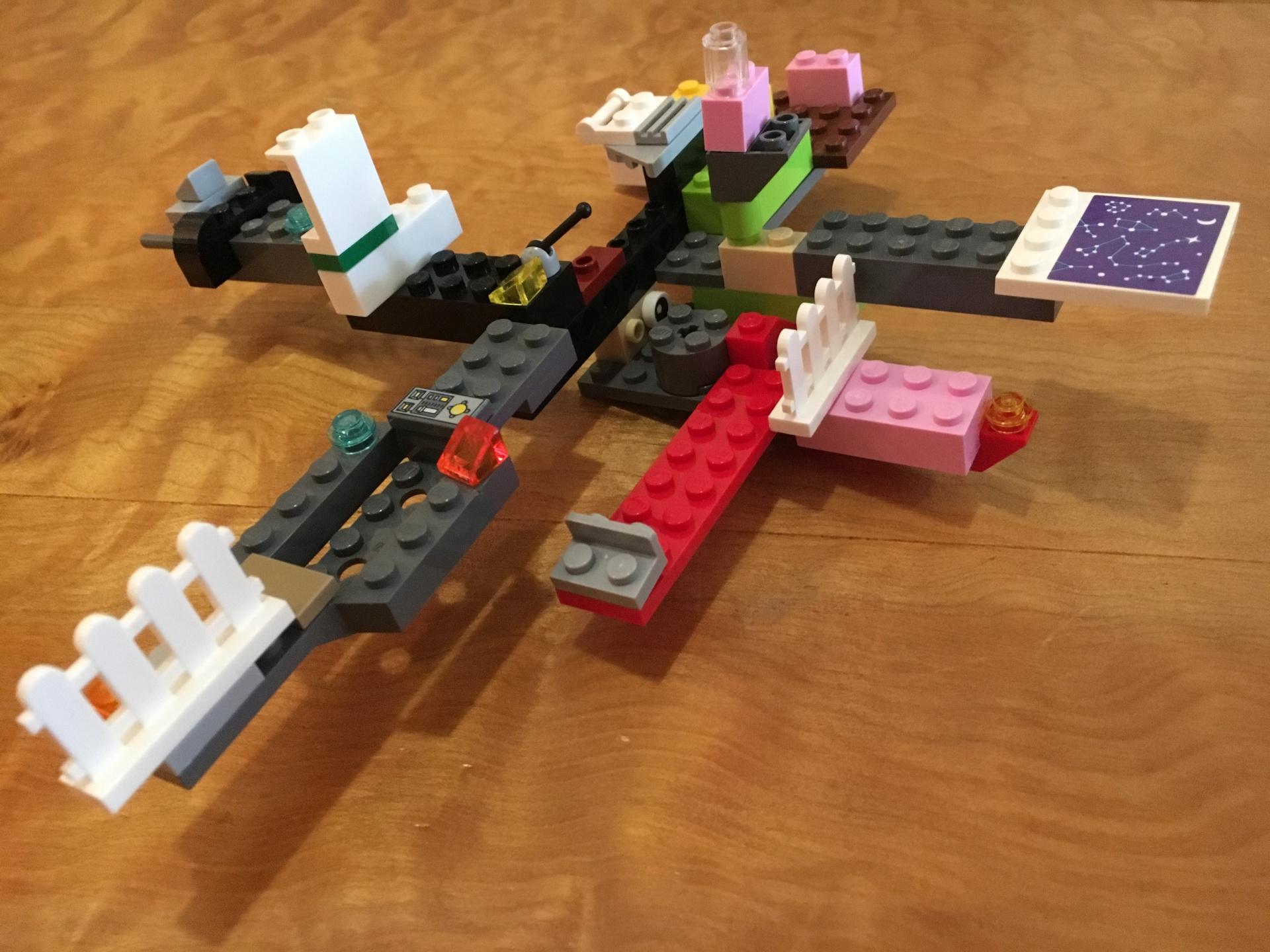 スターウォーズ好きの息子が作った宇宙船です 細か こどものさくひん さくひん No 268